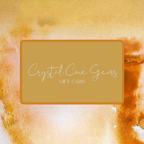 Crystal Cove Gems Gift Card