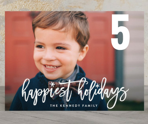 minted holiday cards
