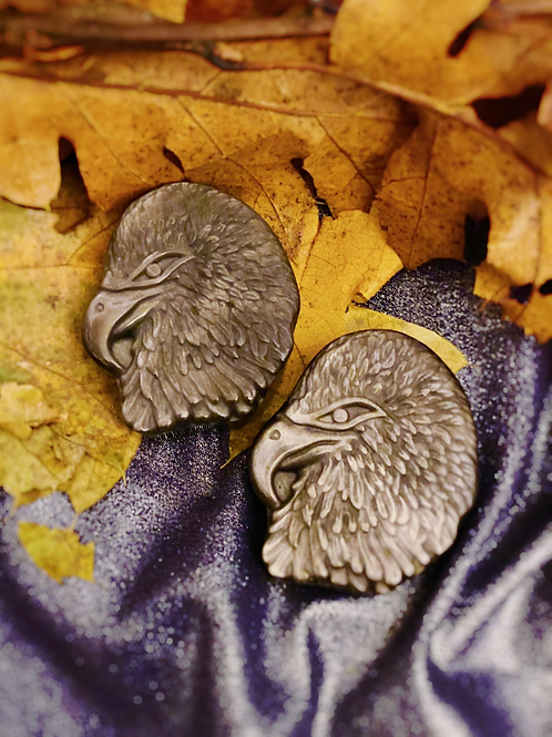 Silver Sheen Eagles for Self Truth & Manifestation