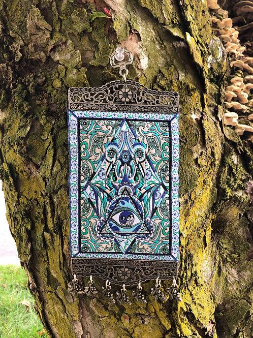 Blue Eye Tapestry