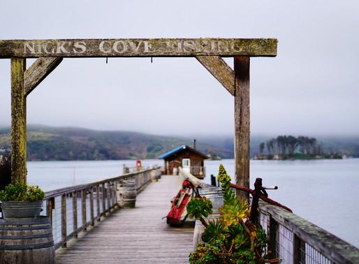 nick's cove getaway,tomales bay