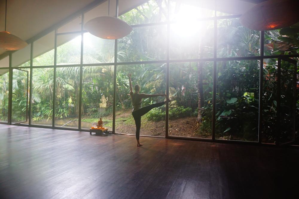 best ubud yoga studios