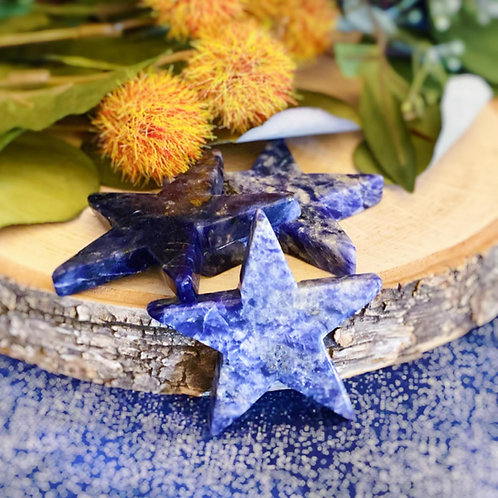 Sodalite Star for Self-Expression & Communication