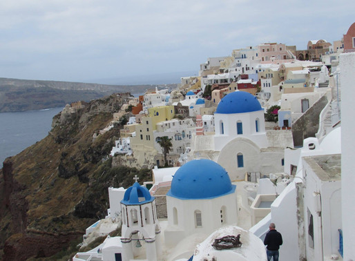 2 days in santorini, greece
