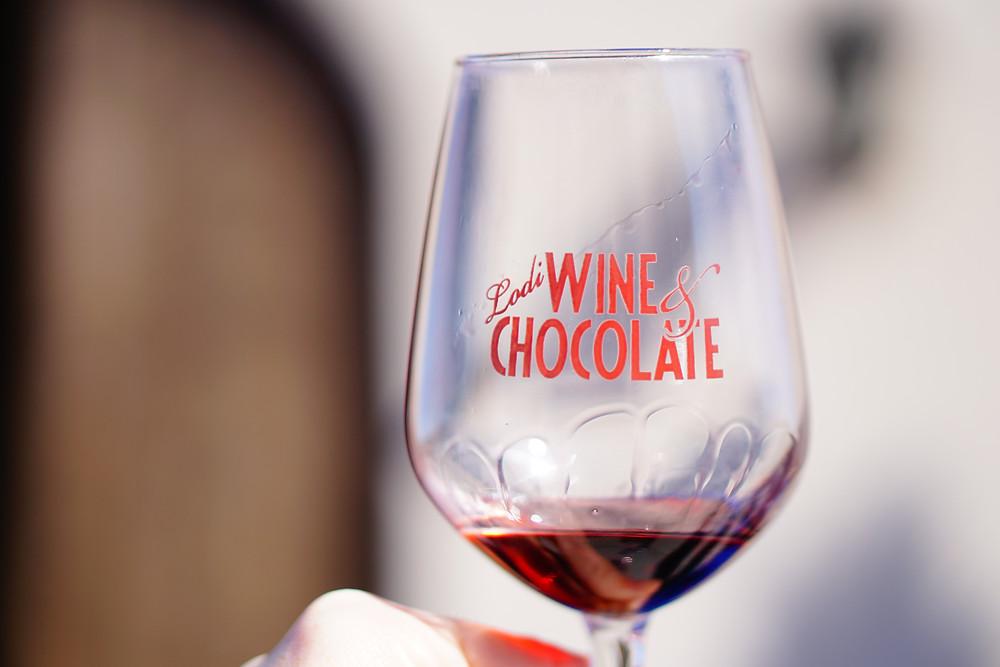 wine and chocolate lodi