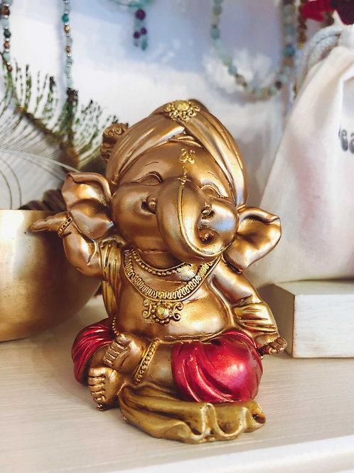 Prosperity Buddha Elephant Statue