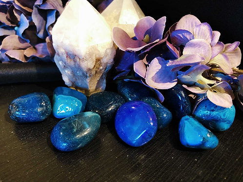 Blue Fire Quartz for Calming Emotional Tension