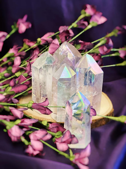 Angel Aura Quartz Generators for Soul Renewal