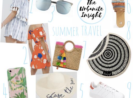 9 summer vacation essential gear