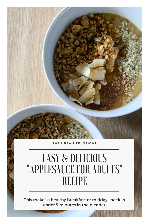 apple smoothie bowl recipe