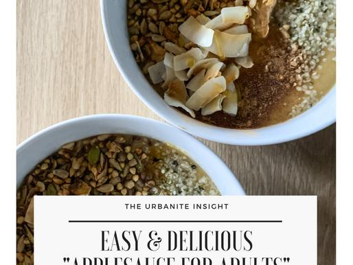 my easy adult applesauce recipe