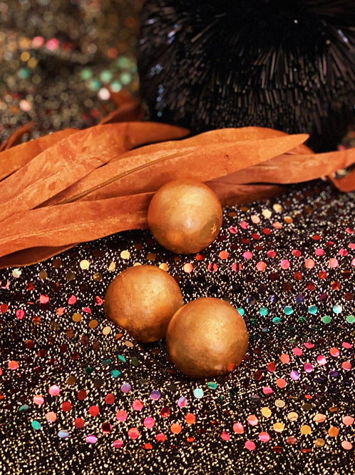 Copper Spheres for Overall Healing Power