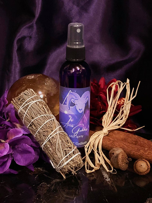 Adventurous Aries Goddess Mist Spray to Bring Fearless Emotions to the Soul