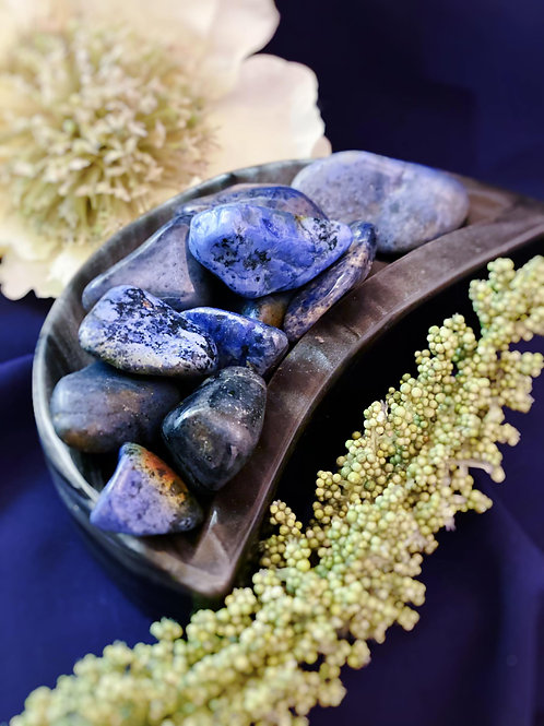 Dumortierite Tumbled for Activating Psychic Gifts