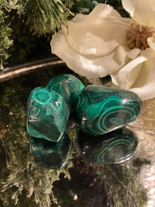 Malachite for Removing Blockages & Stirring the Heart