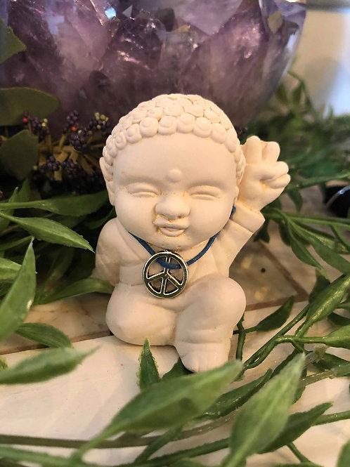 Peace Mini Buddha Statue