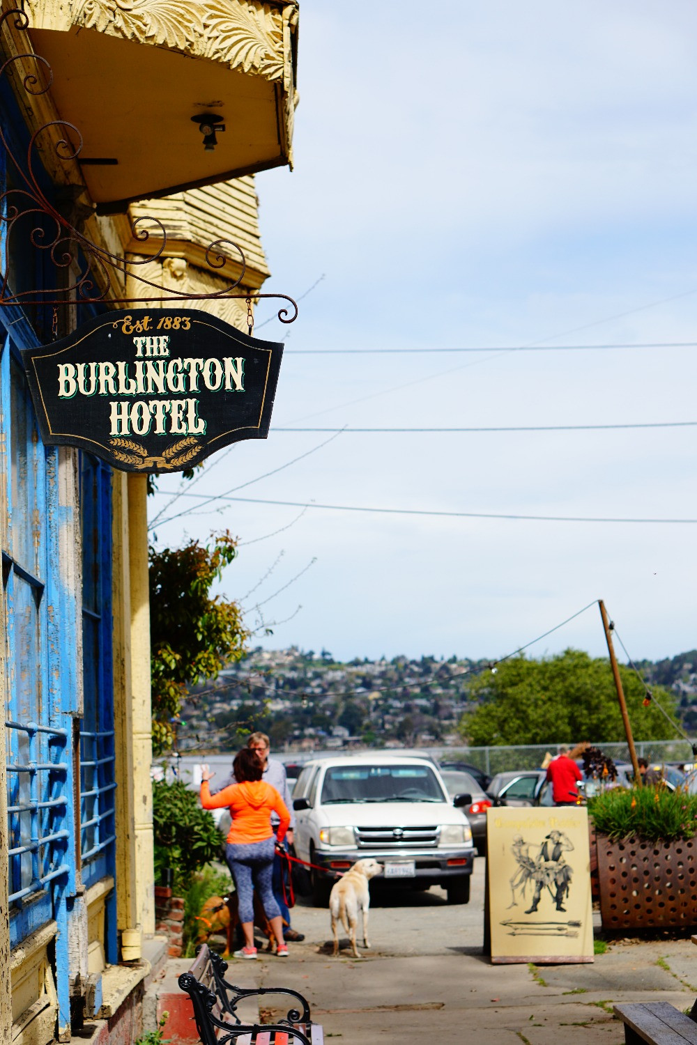 burlington hotel port costa