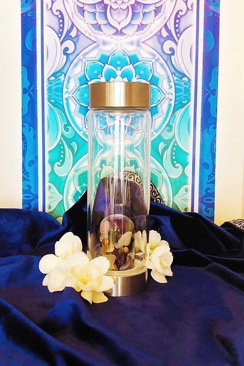 Chakra Balance Crystal Infused Water Bottle