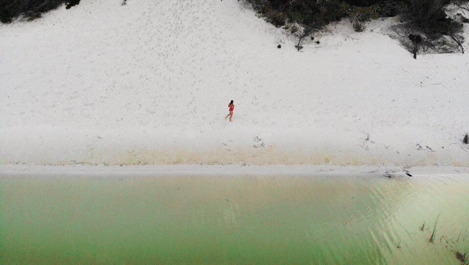 what to see in fraser island