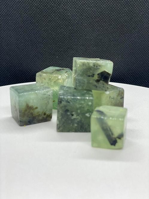 Epidote Cube for Self Love & Dream Remembrance