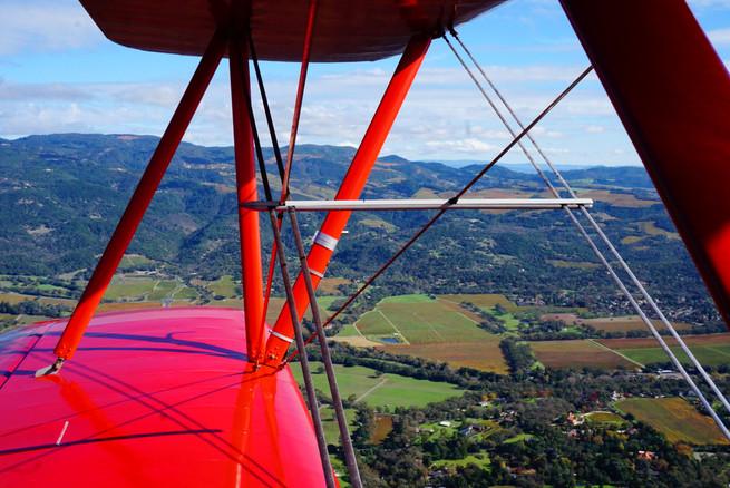 napa valley biplane ride