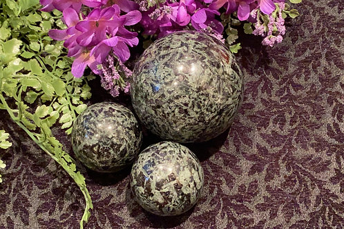 Galaxite Stone Sphere for Angelic Power of Healing & Cosmic Aura Protection