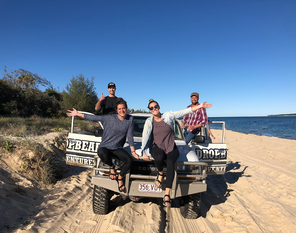 driving on the beach australia