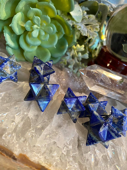 Spiritual Enlighten Lapis Lazuli Merkabas for True Destiny and Divine Purpose