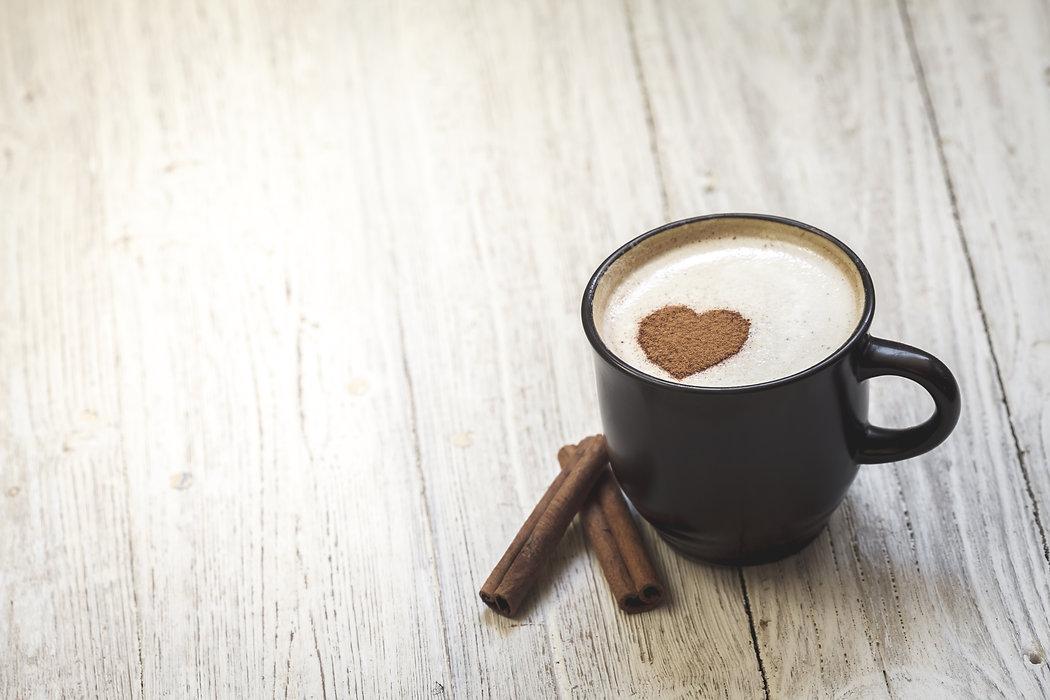 Coffee cup with heart shape.jpg