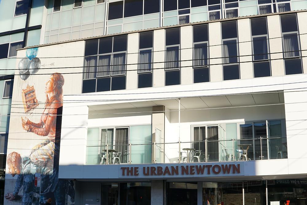 the urban newtown hotel