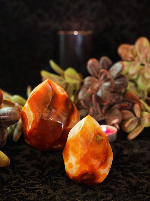 Carnelian Flames for Regaining Your Inner Fire