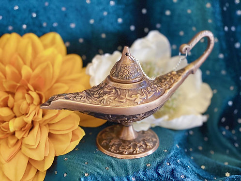 Genie Aladdin Lamp for Clearing Your Space with Beauty