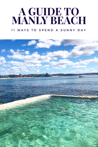 a twenty somethings guide to manly beach