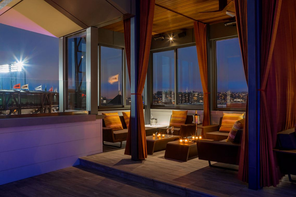 hotel via rooftop cabanas