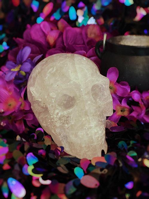 Clear Quartz Skull to Awaken the Human Consciousness