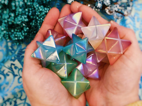 Aura Quartz Merkabas for Ascended Masters Connection & Soul Optimism