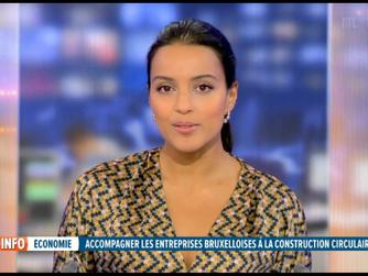 Bruxelles veut encourager les entrepreneurs à la construction circulaire
