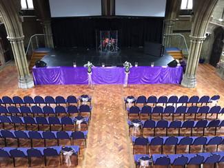 Purple Themed Ceremony