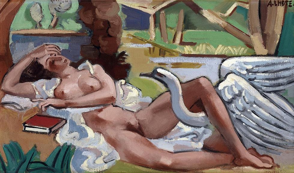 1930 (ок)_Леда и лебедь (Leda et le Cygn