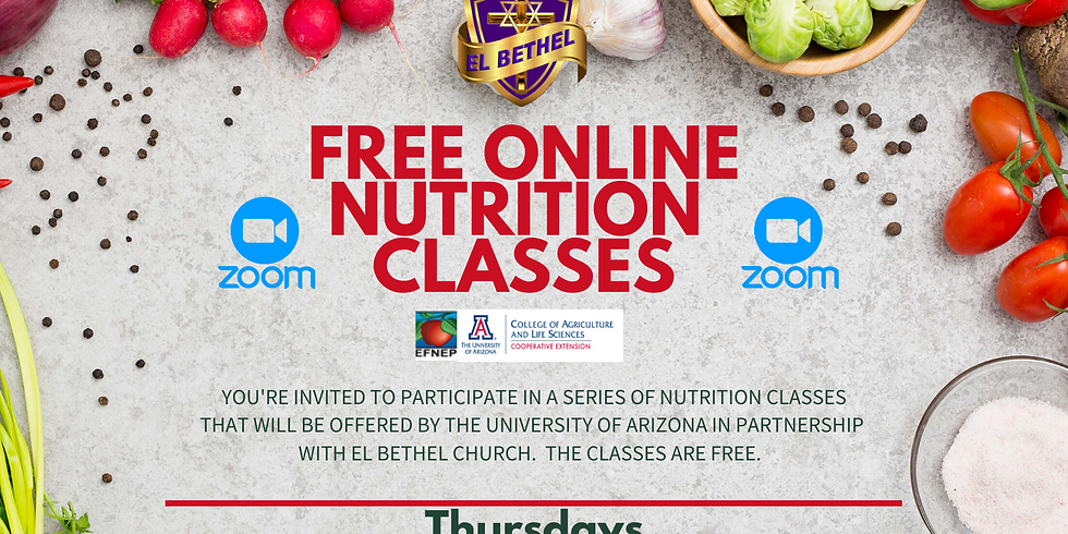 FREE ONLINE NUTRITION CLASSEES
