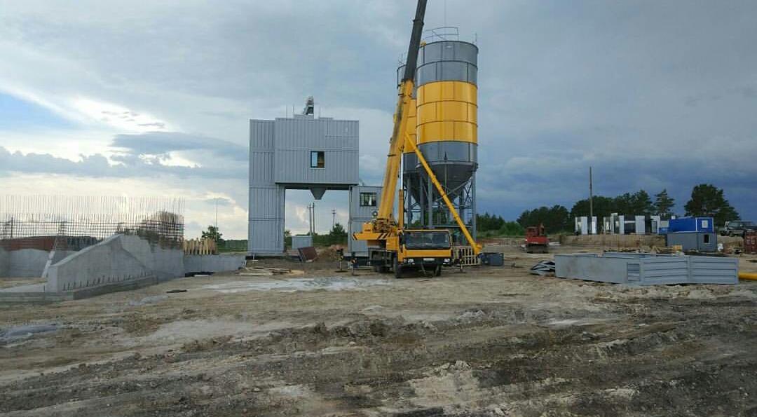 Строительство Бетонного завода