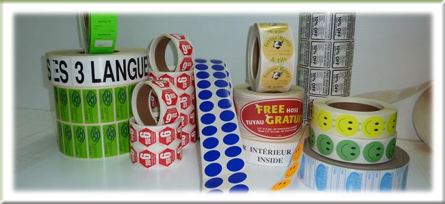 Étiquettes Personnalisé