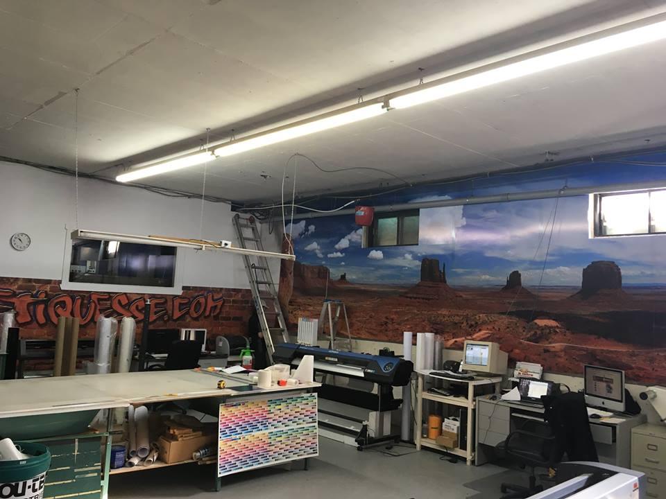 Murale Étiquesse