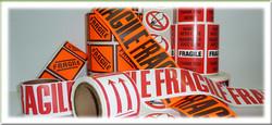Étiquettes Fragile