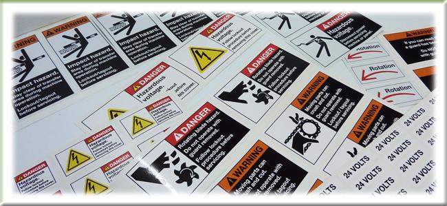 Étiquettes Danger