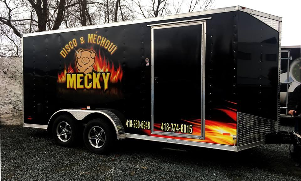 Remorque Méchoui Mecky