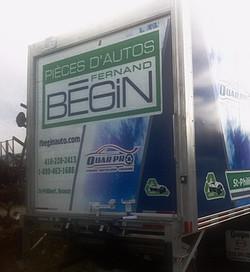 Camion Fernand Bégin
