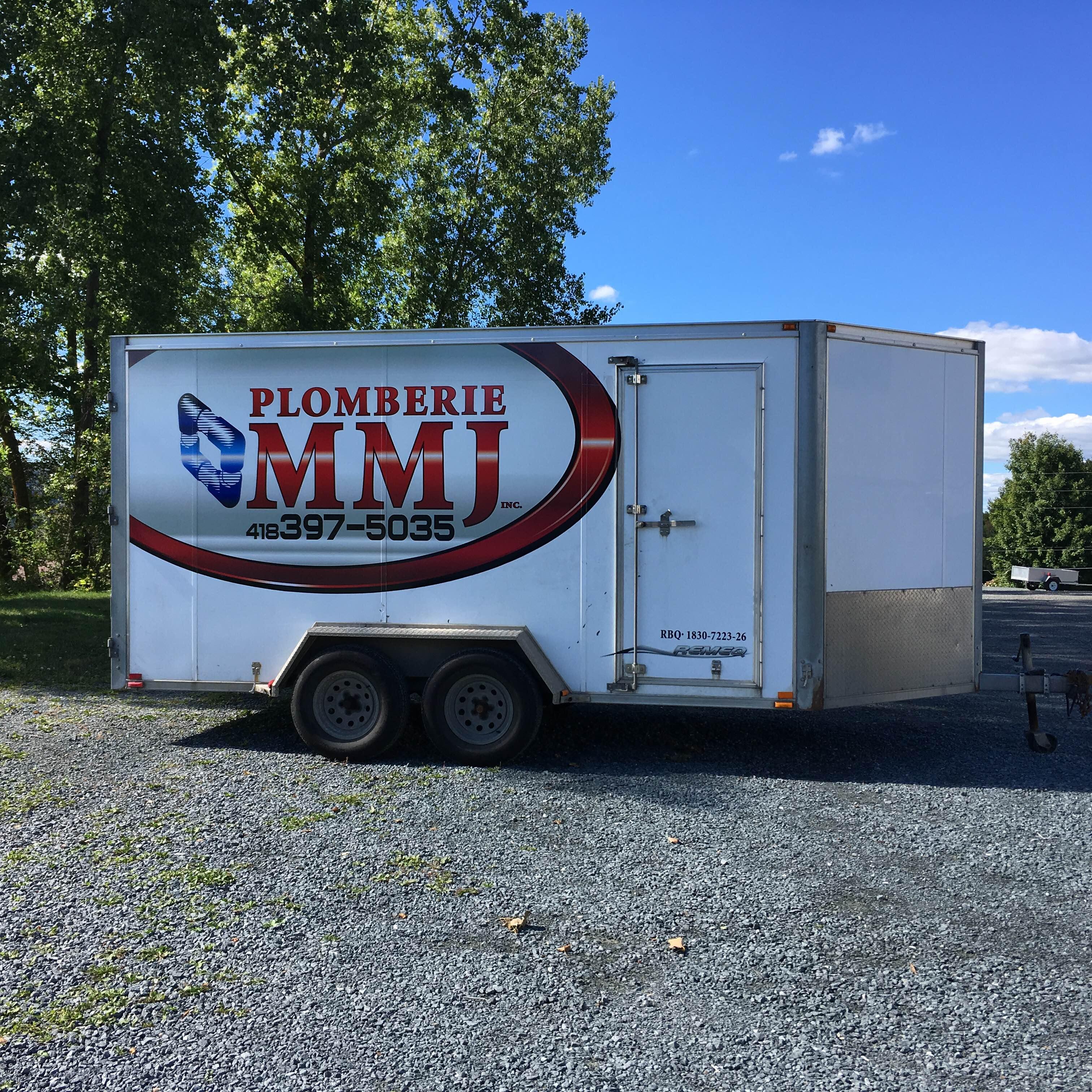 Remorque Plomberie MMJ