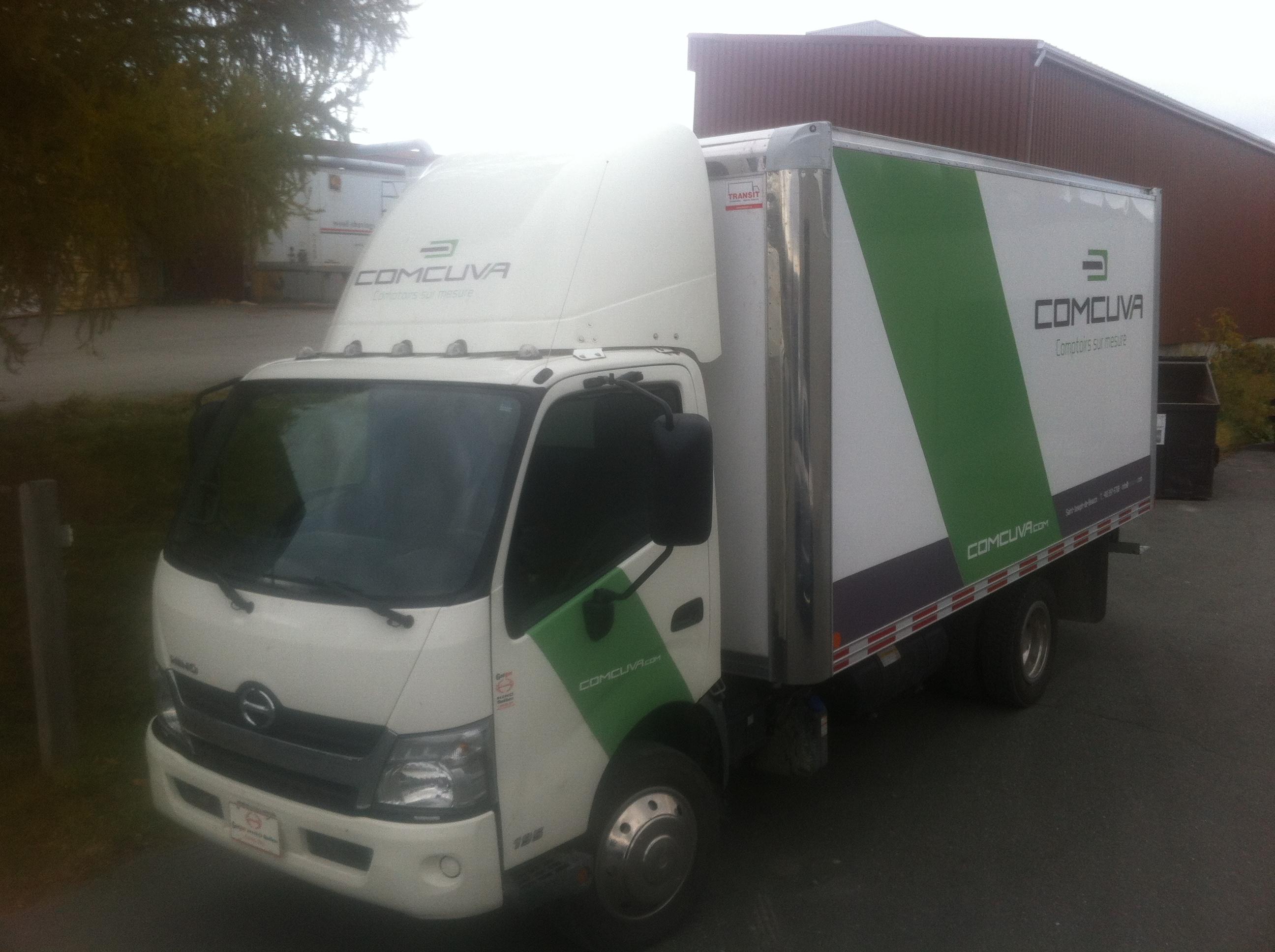 Camion Comcuva