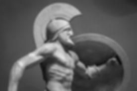 Greek Starověká socha bojovníka